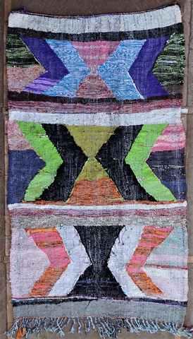 Boucherouite Kilims moroccan rugs KA37435