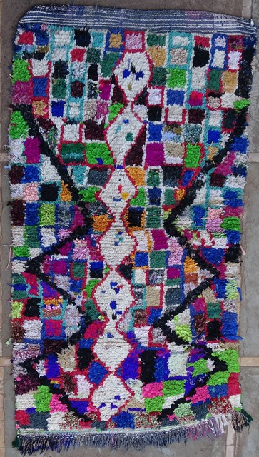 Villamatot – Beni Ouarain Azilal and Ourika moroccan rugs AZ38016