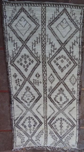 Referenssit Beni Ouarain moroccan rugs BO38025