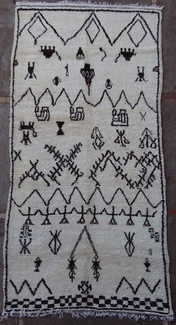 Archive-Sold Azilal and Ourika moroccan rugs AZ38029