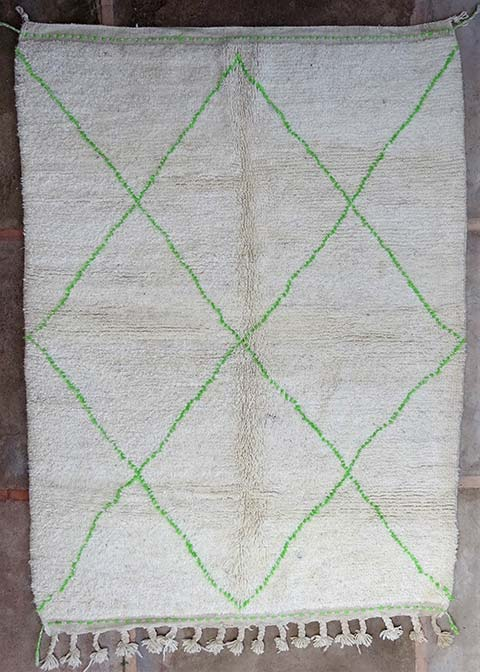 WOOL Rugs - BENI OURAIN Beni Ourain moroccan rugs BO38236/MA
