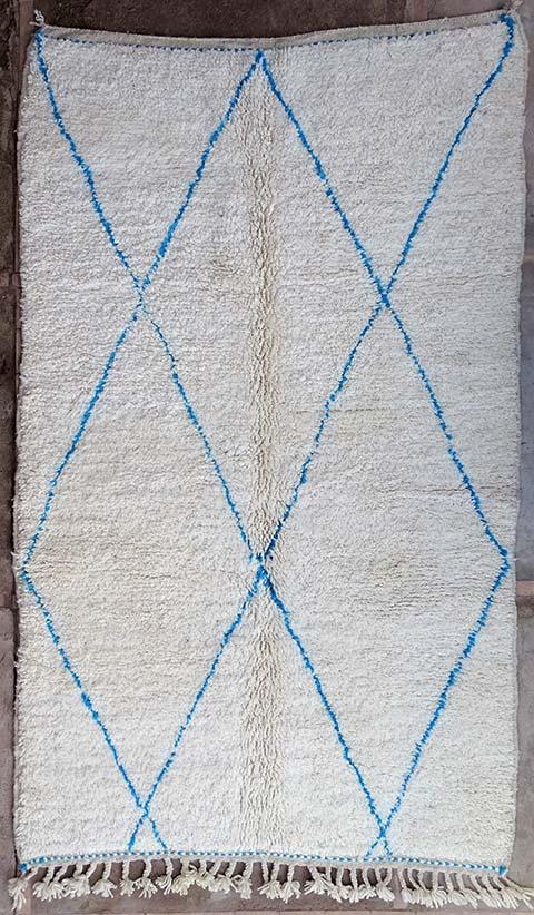 WOOL Rugs - BENI OURAIN Beni Ourain moroccan rugs BO38242/MA