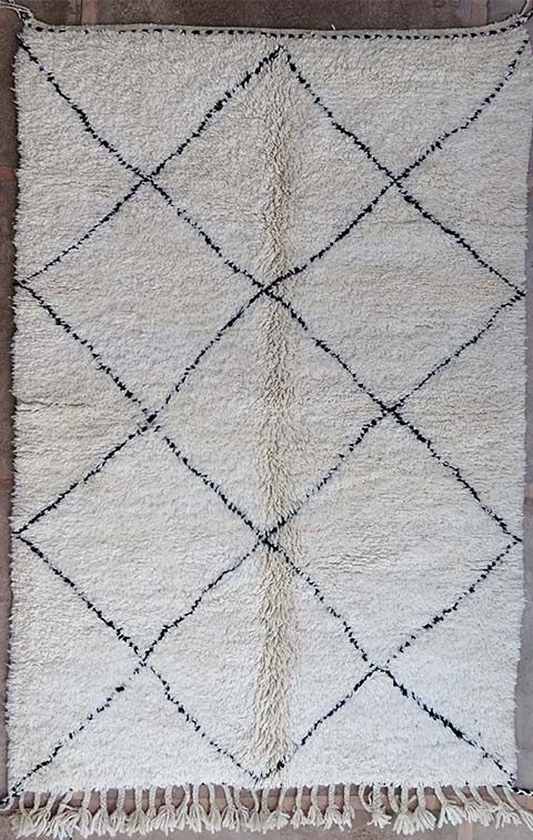 Referenssit Beni Ouarain moroccan rugs BO38245/MA