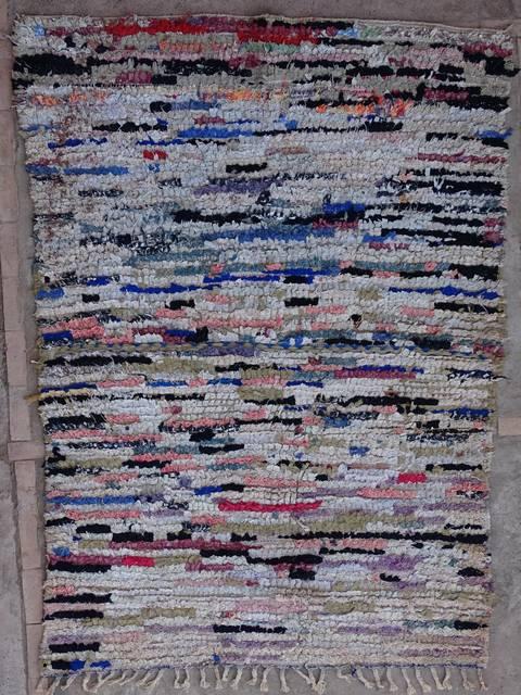 BOUCHEROUITE Boucherouite Medium moroccan rugs T39152