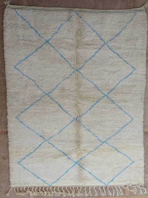 WOOL Rugs - BENI OURAIN Beni Ourain moroccan rugs BO39021/MA-340 €  375 $