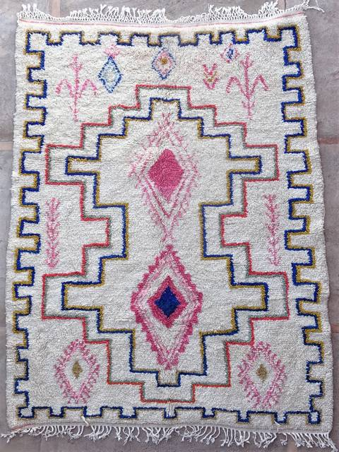 Archive-Sold Azilal and Ourika moroccan rugs AZ39041