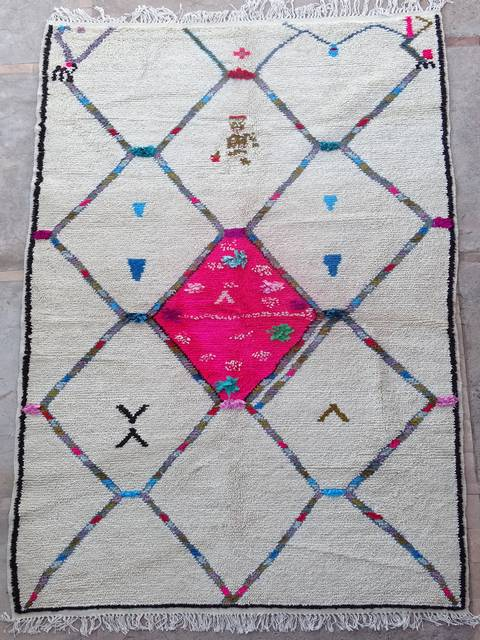 Archive-Sold Azilal and Ourika moroccan rugs AZ39051