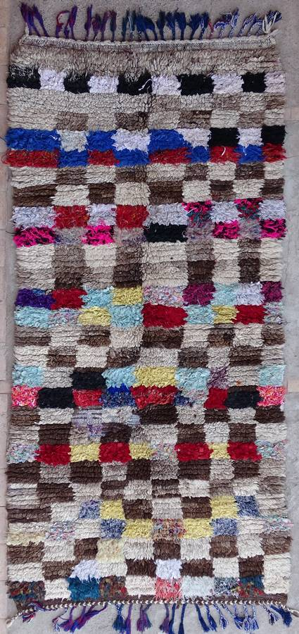 WOOL Rugs - BENI OURAIN Azilal and Ourika moroccan rugs AZ39210