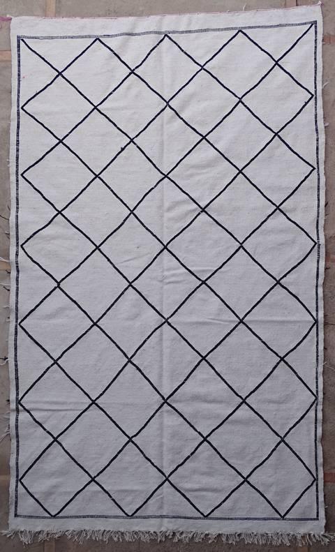 BOUCHEROUITE-KILIMS Boucherouite Medium moroccan rugs TKBO39246 kilim