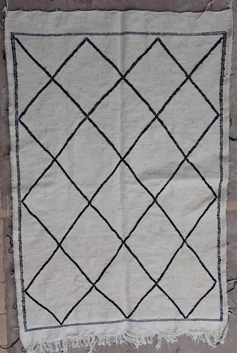 BOUCHEROUITE-KILIMS Boucherouite Small moroccan rugs TTKBO39248  kilim