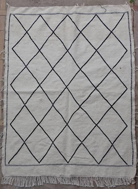 BOUCHEROUITE-KILIMS Boucherouite Small moroccan rugs TTKBO39259  kilim