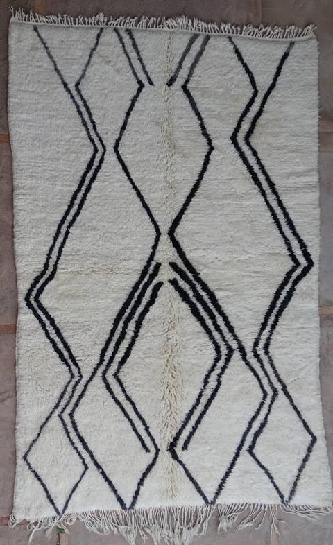 Referenssit Beni Ouarain moroccan rugs BO39261
