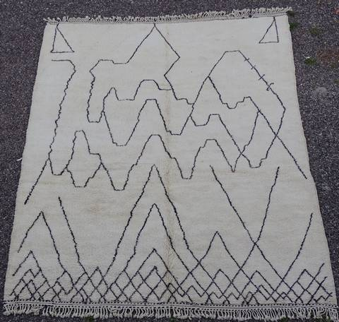 Referenssit Beni Ouarain moroccan rugs BO39280