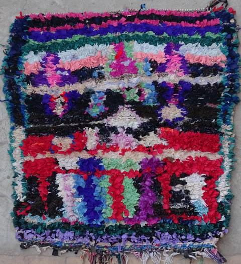 Boucherouite Small moroccan rugs TT38266
