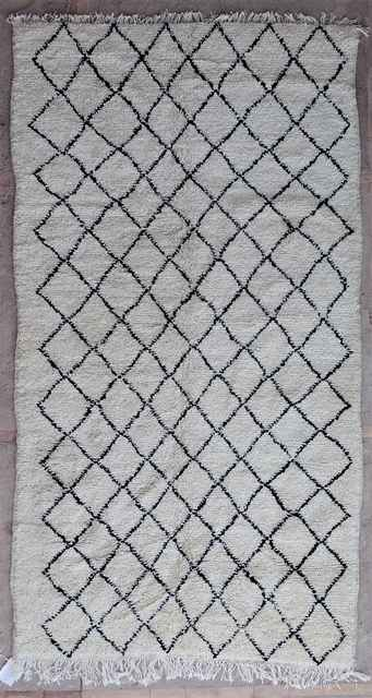 WOOL Rugs - BENI OURAIN Azilal and Ourika moroccan rugs AZ40015