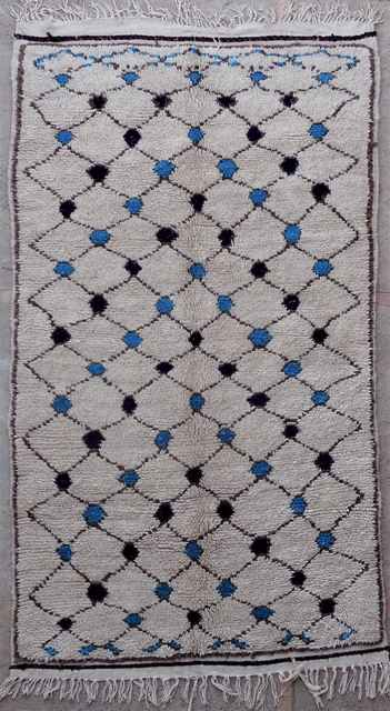 Archive-Sold Azilal and Ourika moroccan rugs AZ40023