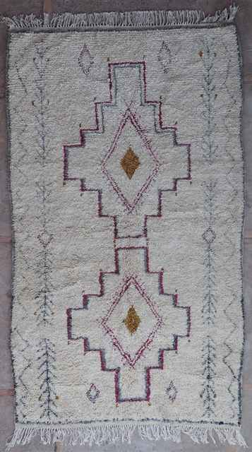 Archive-Sold Azilal and Ourika moroccan rugs AZ40027