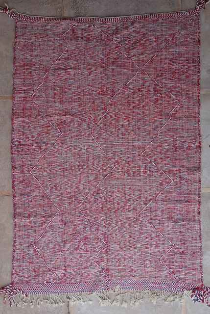 WOOL Rugs - BENI OURAIN Zanafi Kilim moroccan rugs ZA40076