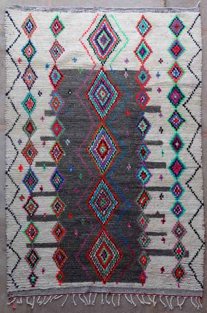 Archive-Sold Azilal and Ourika moroccan rugs AZ40142