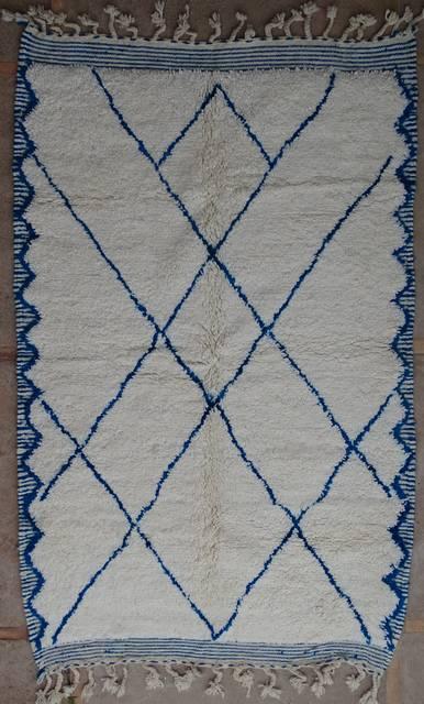 WOOL Rugs - BENI OURAIN Beni Ourain moroccan rugs BO40080/MA