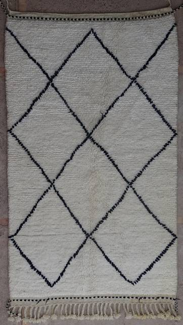 Referenssit Beni Ouarain moroccan rugs BO40102/MA
