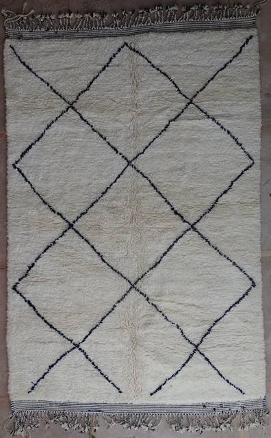Archive-Sold Beni Ouarain moroccan rugs BO40106/MA LE CEDRE ROUGE