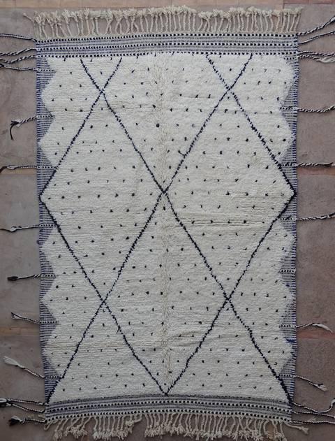 Archive-Sold Beni Ouarain moroccan rugs BO40138/MA