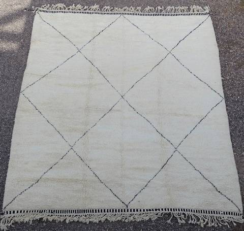 Referenssit Beni Ouarain moroccan rugs BO40156/MA