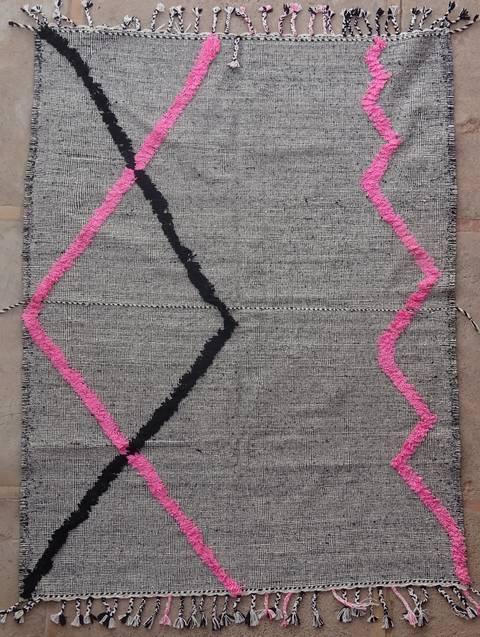 Boucherouite Kilims moroccan rugs ZA40249