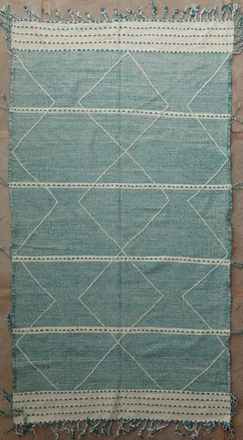 WOOL Rugs - BENI OURAIN Zanafi Kilim moroccan rugs ZA40239
