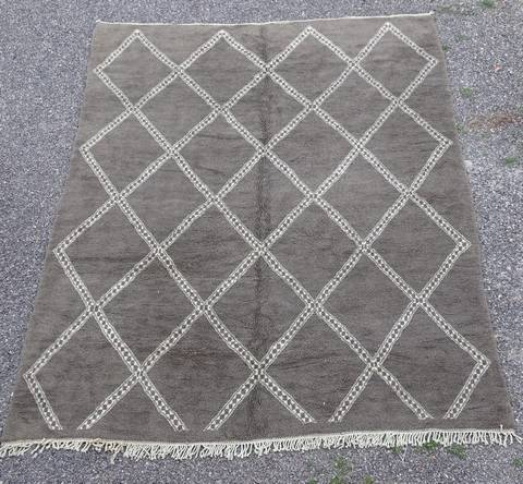 WOOL Rugs - BENI OURAIN Beni Ourain Custom made