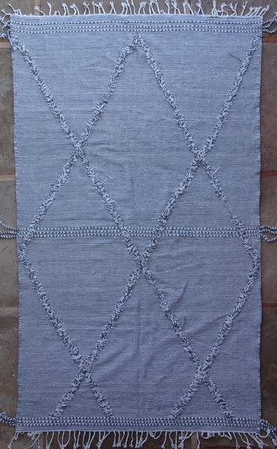 BOUCHEROUITE-KILIMS Kilims recycled textiles moroccan rugs ZA41007-395 €  435 $