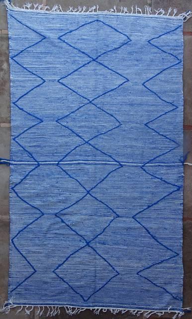 BOUCHEROUITE-KILIMS Kilims recycled textiles moroccan rugs ZA41012