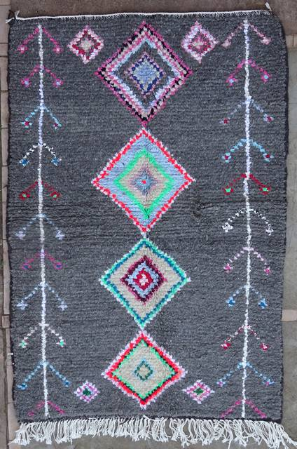 Archive-Sold Azilal and Ourika moroccan rugs AZ41038 80 euros 90 usd RESERVED