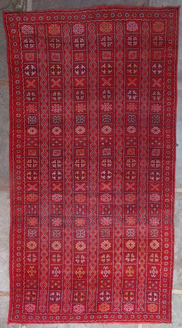 WOOL Rugs - BENI OURAIN Beni Ourain and Middle Atlas Antique moroccan rugs ZE41068 - ZEMMOUR - 395 euros  435 usd
