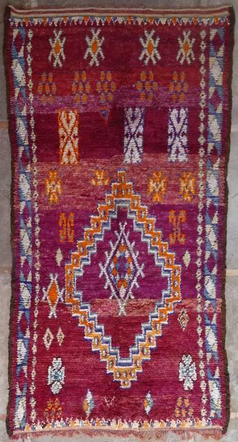 Referenssit Beni Ouarain moroccan rugs BJ41069