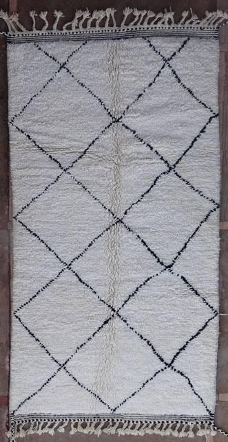 Referenssit Beni Ouarain moroccan rugs BO41095/MA RESERVE