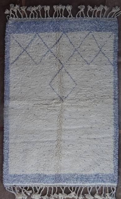 BENI OURAIN-WOLLTEPPICHE Beni Ourain Berber Teppich BO41097/MA