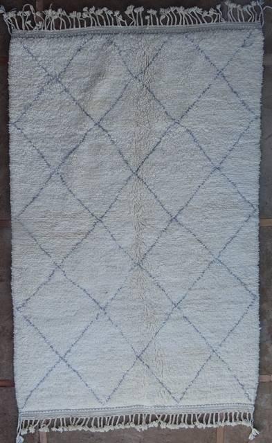 WOOL Rugs - BENI OURAIN Beni Ourain moroccan rugs BO41116/MA
