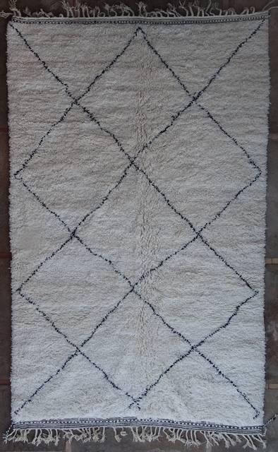 WOOL Rugs - BENI OURAIN Beni Ourain moroccan rugs BO41119/MA