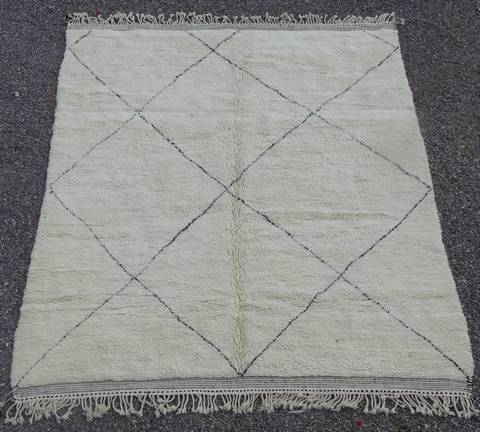 Referenssit Beni Ouarain moroccan rugs BO41123/MA RESERVE