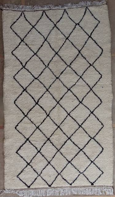 WOOL Rugs - BENI OURAIN Azilal and Ourika moroccan rugs AZ41146-202 euros 230 $