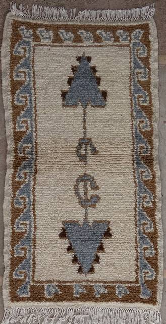 WOOL Rugs - BENI OURAIN Azilal rugs moroccan rugs AZ41152-56 euros  65 $