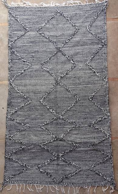 WOOL Rugs - BENI OURAIN Zanafi Kilim moroccan rugs ZA41180