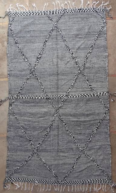 WOOL Rugs - BENI OURAIN Zanafi Kilim moroccan rugs ZA41181