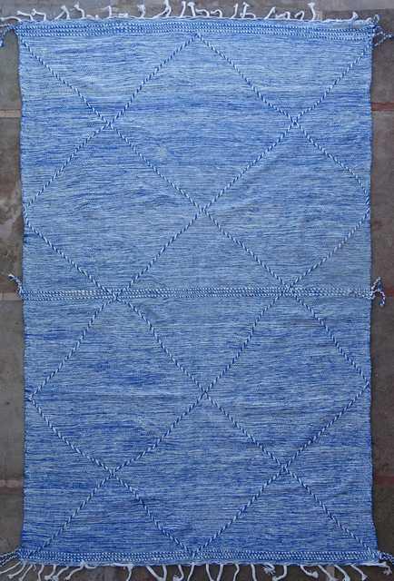 BOUCHEROUITE-KILIMS Kilims recycled textiles moroccan rugs ZA41208