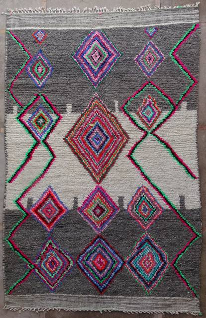 WOOL Rugs - BENI OURAIN Azilal and Ourika moroccan rugs AZ42005