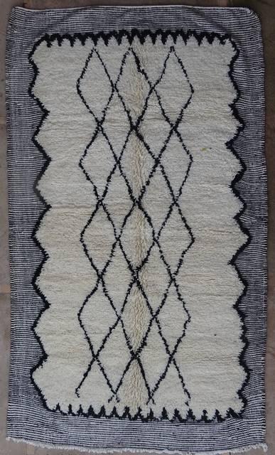 WOOL Rugs - BENI OURAIN Beni Ourain moroccan rugs BO42014/MA