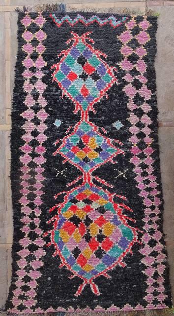 BOUCHEROUITE Boucherouite Large moroccan rugs L42020