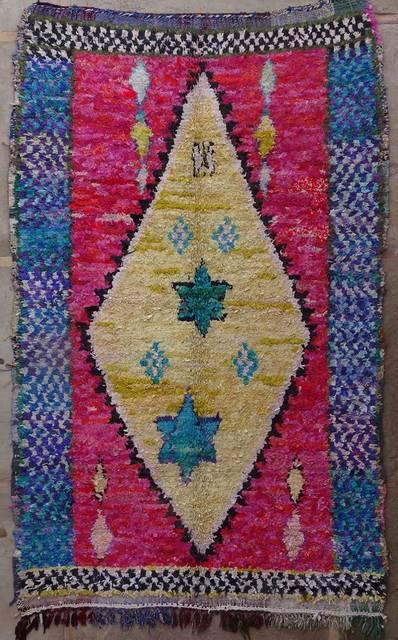 Boucherouite Large moroccan rugs L42021 130 euros  145 usd